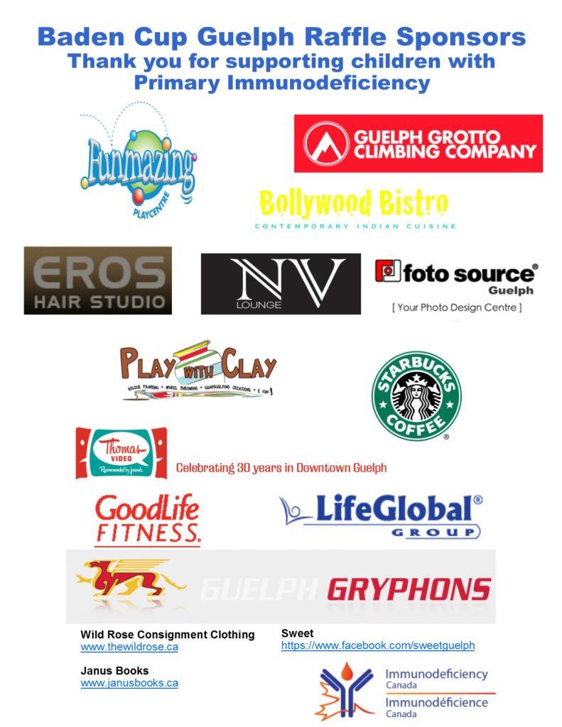 2015 Raffle Sponsors